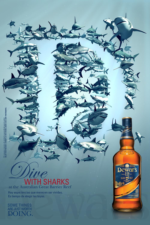 Dewars – Tiburones